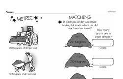 Free Fifth Grade Measurement PDF Worksheets Worksheet #7