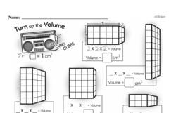 Free Fifth Grade Measurement PDF Worksheets Worksheet #8