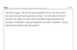 Free Measurement PDF Math Worksheets Worksheet #26