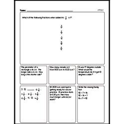 Multiplication Worksheets - Free Printable Math PDFs Worksheet #130