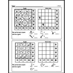 Multiplication Worksheets - Free Printable Math PDFs Worksheet #88