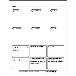 Multiplication Worksheets - Free Printable Math PDFs Worksheet #142