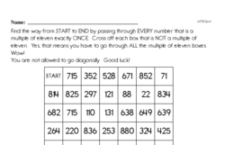 Multiplication Worksheets - Free Printable Math PDFs Worksheet #37