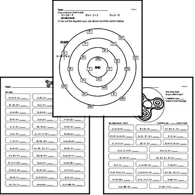Number Sense - Order of Operations and Use of Parentheses Workbook (all teacher worksheets - large PDF)
