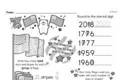 Free Fifth Grade Number Sense PDF Worksheets Worksheet #8
