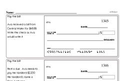 Free Fifth Grade Number Sense PDF Worksheets Worksheet #1