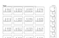 Free Fifth Grade Number Sense PDF Worksheets Worksheet #2