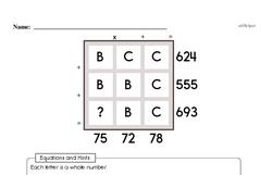 Free Fifth Grade Number Sense PDF Worksheets Worksheet #6