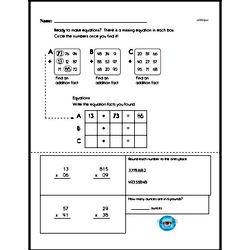 Free Fifth Grade Number Sense PDF Worksheets Worksheet #21
