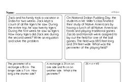 Free Fifth Grade Number Sense PDF Worksheets Worksheet #17