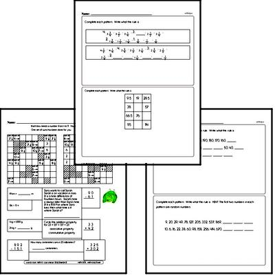 Patterns Workbook (all teacher worksheets - large PDF)