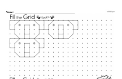 Free Fifth Grade Patterns PDF Worksheets Worksheet #6