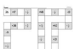 Free Fifth Grade Subtraction PDF Worksheets Worksheet #3