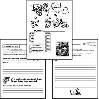 Fifth Grade Back to School Activity Book #2