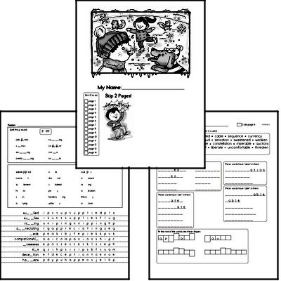 Fifth Grade Winter Activity Book for January