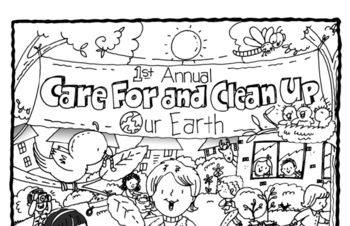 Ponder the Picture Puzzle: Care for and Clean Up Our Earth