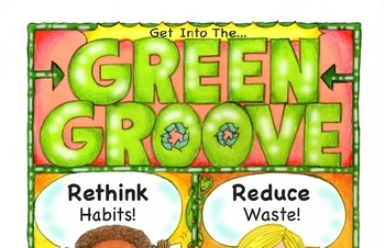 Get Into The... Green Groove Poster