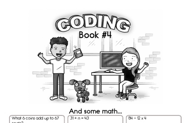 Coding for Kids Workbook #4
