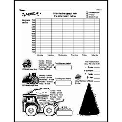 Sixth Grade Data Worksheets - Graphing Worksheet #14