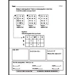 Sixth Grade Data Worksheets - Probability and Statistics Worksheet #2