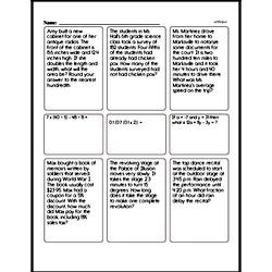 Sixth Grade Data Worksheets - Probability and Statistics Worksheet #4