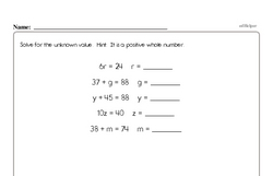 Free Sixth Grade Data PDF Worksheets Worksheet #15
