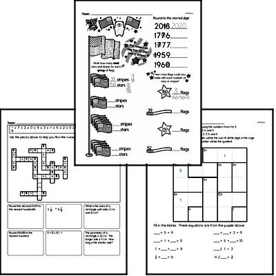 Division Mixed Math PDF Workbook for Sixth Graders