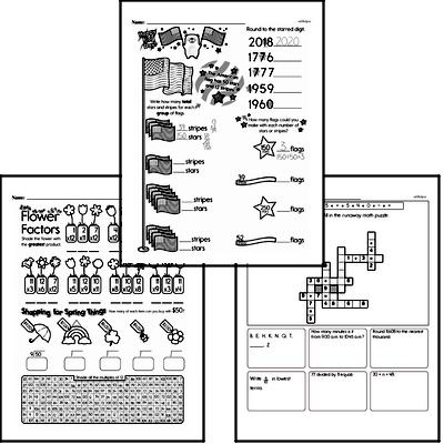 Division Workbook (all teacher worksheets - large PDF)
