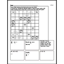 Division Worksheets - Free Printable Math PDFs Worksheet #35