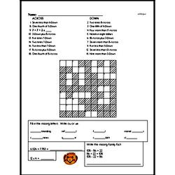 Free Sixth Grade Fractions PDF Worksheets Worksheet #2