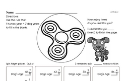 Dog Years with Fractions