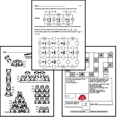 Fractions Mixed Math PDF Book