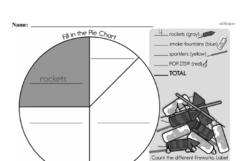 Fraction Worksheets - Free Printable Math PDFs Worksheet #1