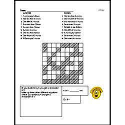 Sixth Grade Fractions Worksheets Worksheet #26