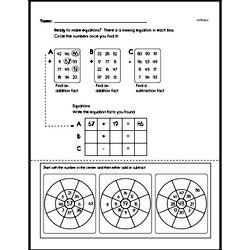 Free Fraction PDF Math Worksheets Worksheet #187