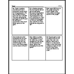 Sixth Grade Fractions Worksheets Worksheet #9