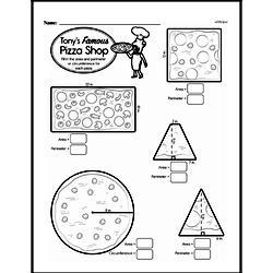 Sixth Grade Geometry Worksheets - Area   edHelper.com