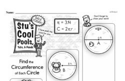 Sixth Grade Geometry Worksheets Worksheet #1