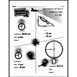 Geometry Worksheets - Free Printable Math PDFs Worksheet #9
