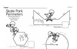 Sixth Grade Geometry Worksheets Worksheet #3