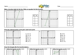More Coordinate Graphing