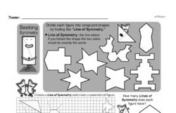 Sixth Grade Geometry Worksheets Worksheet #21