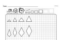 Free Sixth Grade Geometry PDF Worksheets Worksheet #19