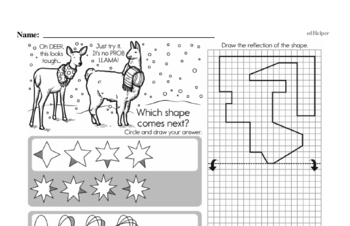 Math Challenges - Puzzles and Brain Teasers Mixed Math PDF Workbook for Sixth Graders