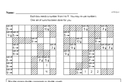 Free Sixth Grade Math Challenges PDF Worksheets Worksheet #4
