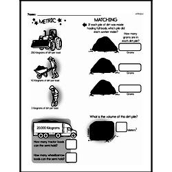 Sixth Grade Measurement Worksheets Worksheet #10