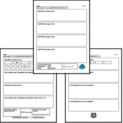 Free Sixth Grade Money Math PDF Worksheets | edHelper com