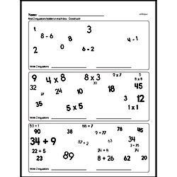 Sixth Grade Multiplication Worksheets - One-Digit ...