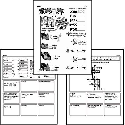 Multiplication Workbook (all teacher worksheets - large PDF)