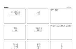 Multiplication and Division Mad Minute Pages